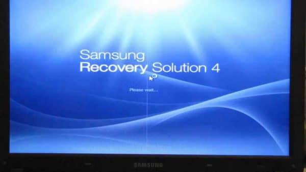Как восстановить Windows на ноутбуке Samsung