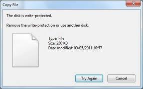 Защищенный от записи (ReadOnly) диск в Windows 7