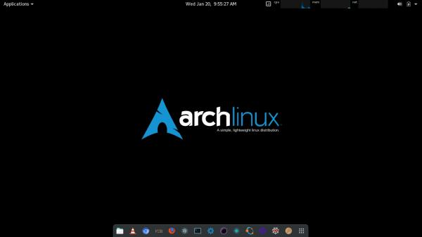 Настройка archlinux после установки