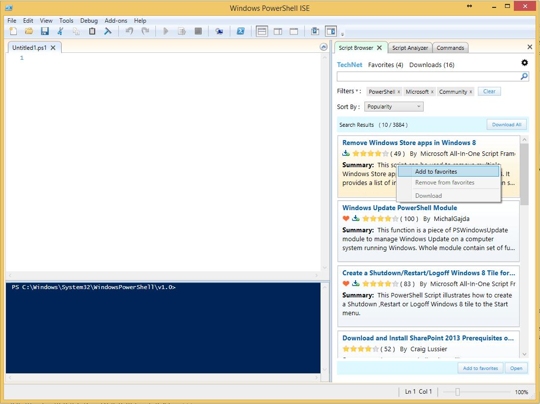 Как запустить скрипт PowerShell без отображения окна?