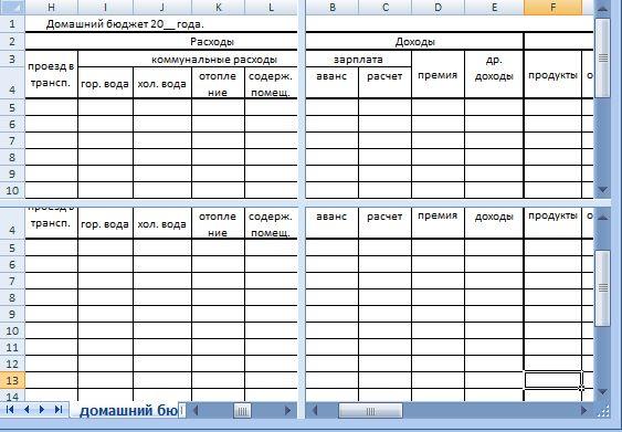 Сравнение таблиц excel