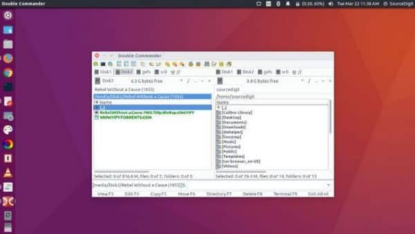 Установка double commander ubuntu 16.04